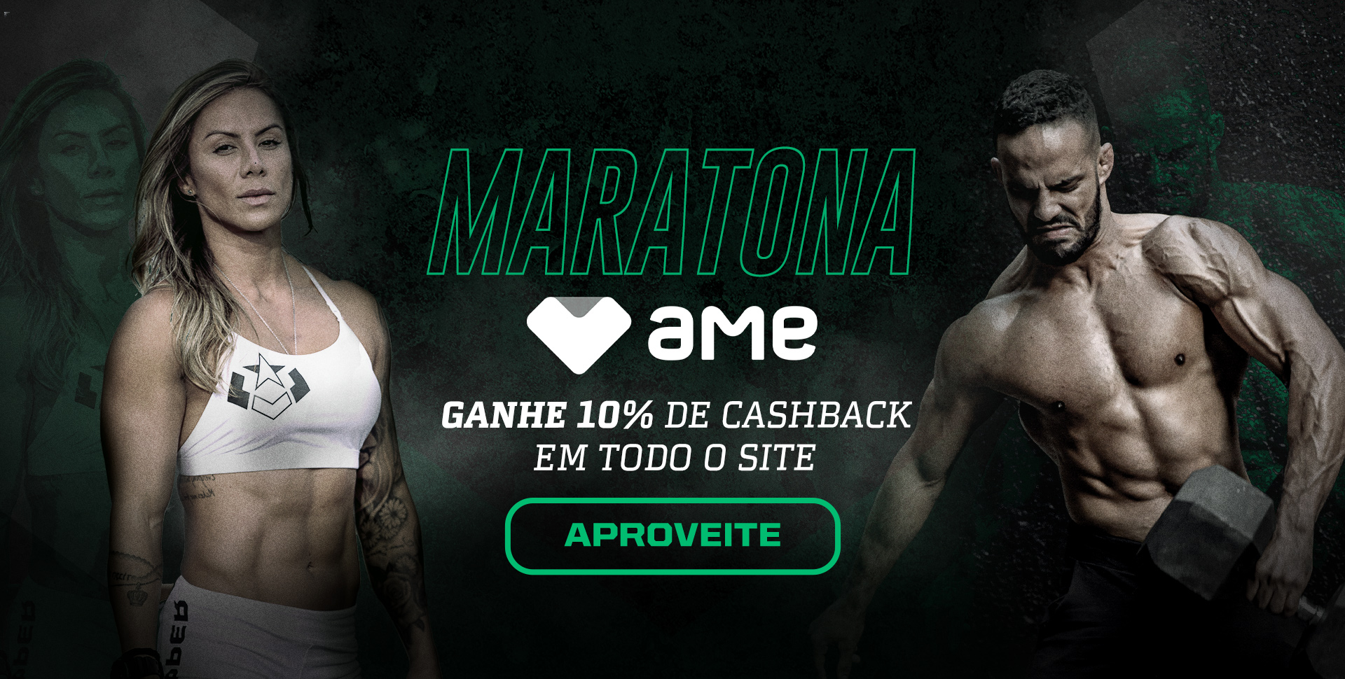 Banner Cashback 10% - Julho