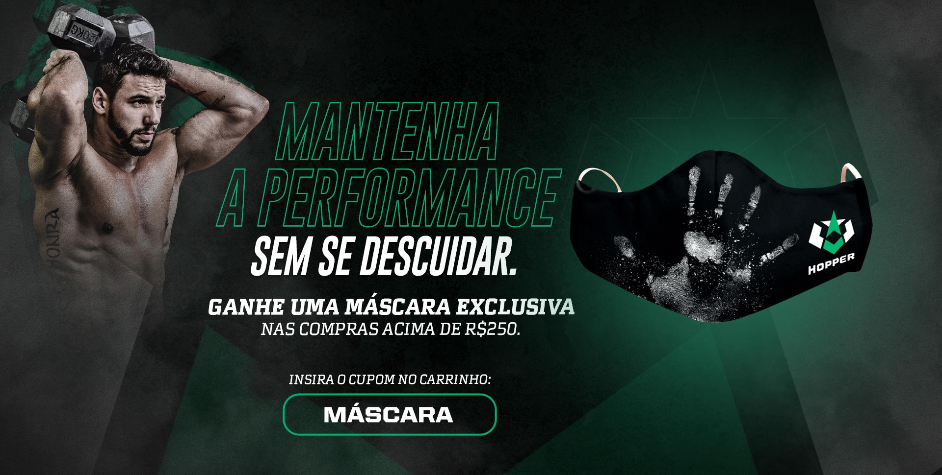 Pedidos acima de R$ 250 ganhe uma máscara - Setembro